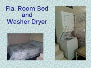 Stay Near Disney Florida Room Bed and Washer/Dryer